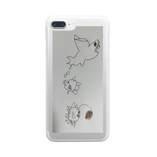 うみのそこ Clear smartphone cases
