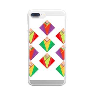 十二単 Clear smartphone cases