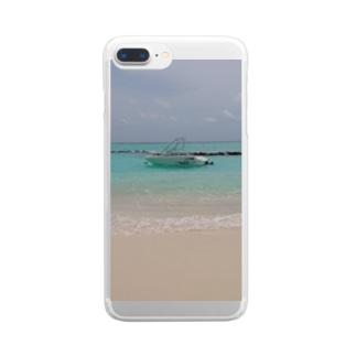 エメラルド Clear smartphone cases