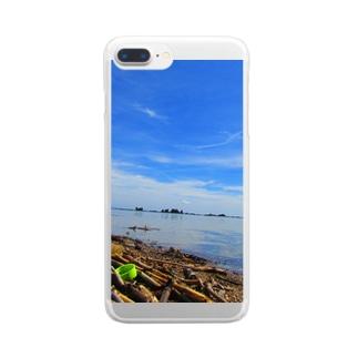 鵜ノ崎海岸 Clear smartphone cases