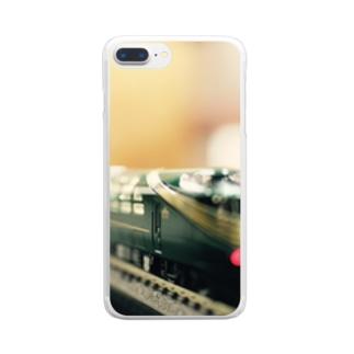 三軒家鉄道 Clear smartphone cases