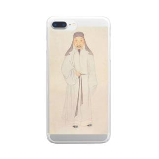 顧炎武先生 Clear smartphone cases
