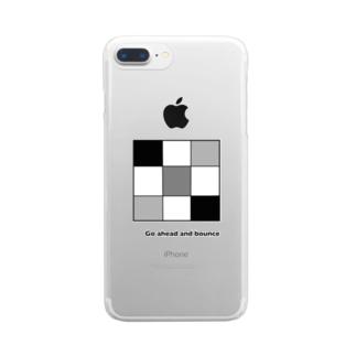 小さなロジック Clear smartphone cases