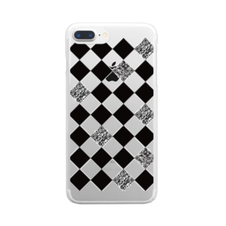 irodoruhanaのお誕生日を祝う Clear smartphone cases