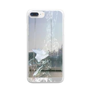 阨/seek. Clear smartphone cases