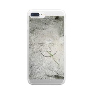 ハワイのご機嫌さん♪ Clear smartphone cases