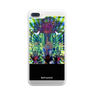 手っててて~♪ Clear smartphone cases