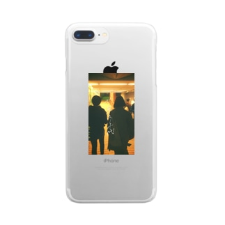 さよなら十代 Clear smartphone cases