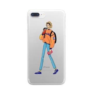 グッドモーニング、アメリカ Clear smartphone cases