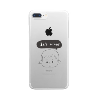 ぼくの!わたしの!ツインテちゃん Clear smartphone cases