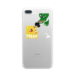 龍虎 Clear smartphone cases