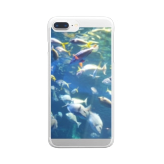 fish land Clear smartphone cases