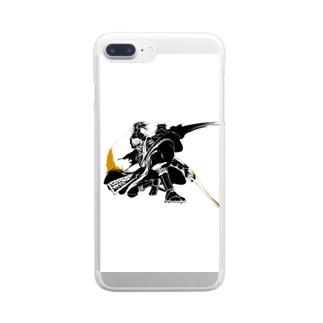 侍 Clear smartphone cases