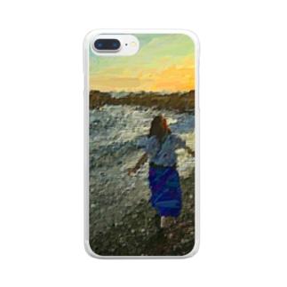 心象風景 Clear smartphone cases