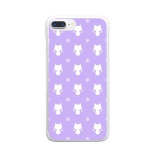 異端児リピテーションスマホケース Clear smartphone cases