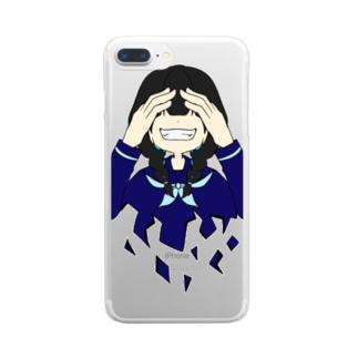 笑え Clear smartphone cases