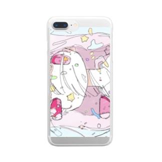 フルーツパーラーゴトーコラボ Clear smartphone cases