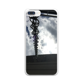 RyoY_ArtWorks_GalleryのSunLight_Chain_Water_SKY Clear smartphone cases