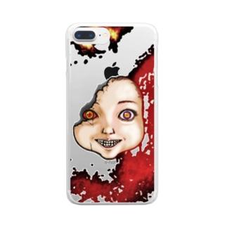 ドール Clear smartphone cases