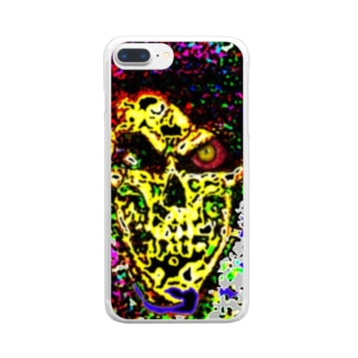 Death Mosaic Clear smartphone cases