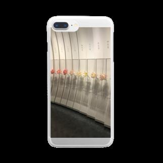 hachimitsu0502の世界の睡蓮 Clear smartphone cases