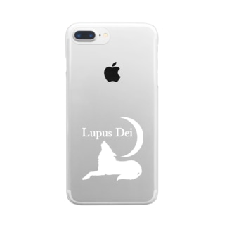 Lupus Dei 公式グッズ Clear smartphone cases