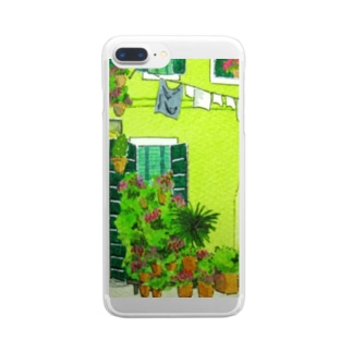 Burano green Clear smartphone cases