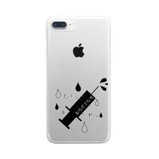 医者 Clear smartphone cases