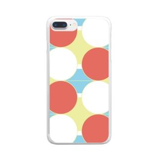 ハレノヒ2 Clear smartphone cases