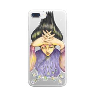 射精 Clear smartphone cases