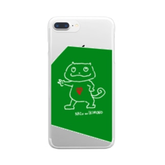 NAZO NO IKIMONO CASE Clear smartphone cases