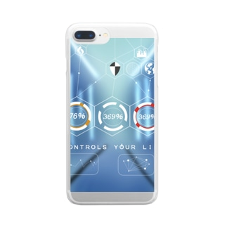 CONTROLS YOUR LIFE  Clear smartphone cases