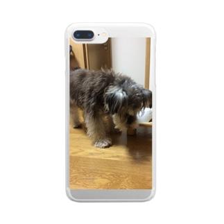 トランプくん Clear smartphone cases