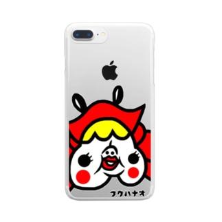 カニカニどこカニ Clear smartphone cases