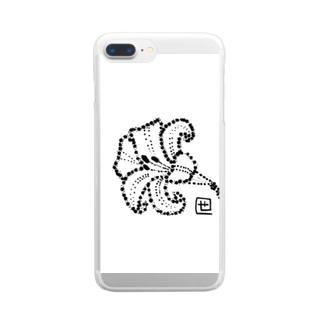 百合の花 Clear smartphone cases