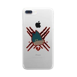 【死神】Shiyami Clear smartphone cases