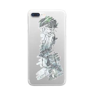 川 Clear smartphone cases