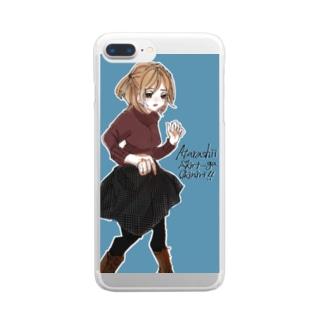 遊海月のiPhoneケース Clear smartphone cases