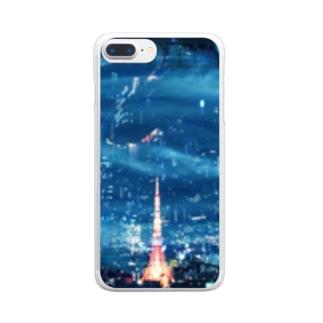東京タワー Clear smartphone cases