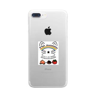 詩愛(しおん)ライブ記念 Clear smartphone cases