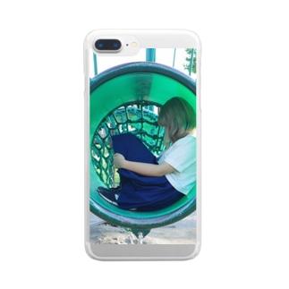 閉じこもり。 Clear smartphone cases
