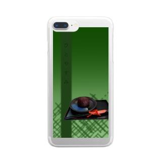 ぼた餅でひとやすみ Clear Smartphone Case