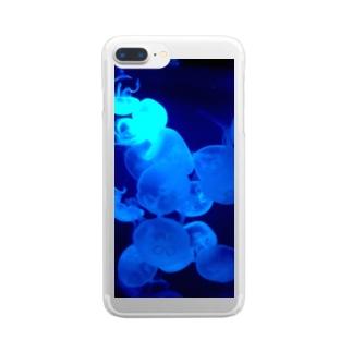 水海月たち Clear smartphone cases