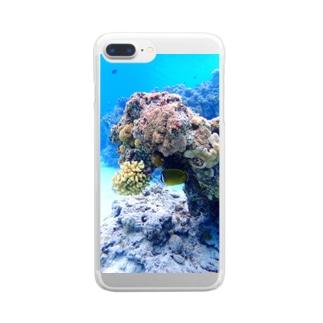 ZAMAMI ISLAND Clear smartphone cases