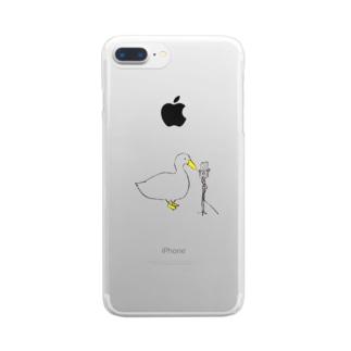マイクチェックァ Clear Smartphone Case