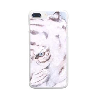 白虎 Clear smartphone cases