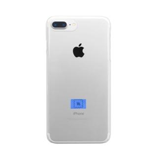 ねずちゅーのテプラ Clear smartphone cases
