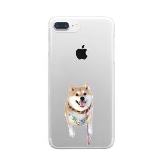 ハナちゃーん Clear smartphone cases
