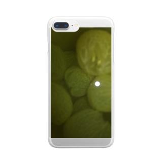 ブドー Clear smartphone cases