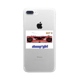 slump'girl Clear smartphone cases